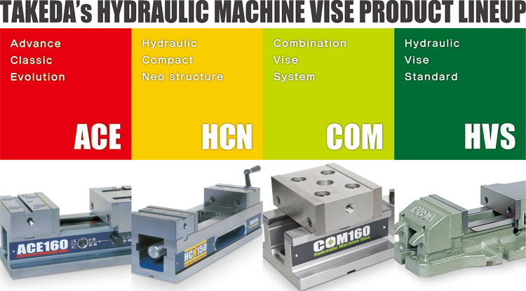 Hydraulic Machine Vise